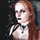 """RAVEN CHOKER"" Gothic collar, pagan jewellery, crow necklace, nordic runes"
