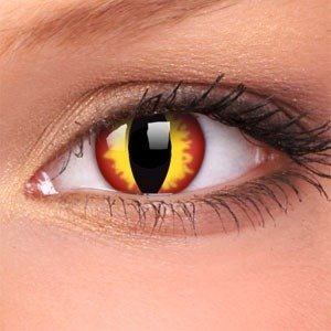 Colourvue DRAGON EYES crazy fantasy wild decorative contact lens