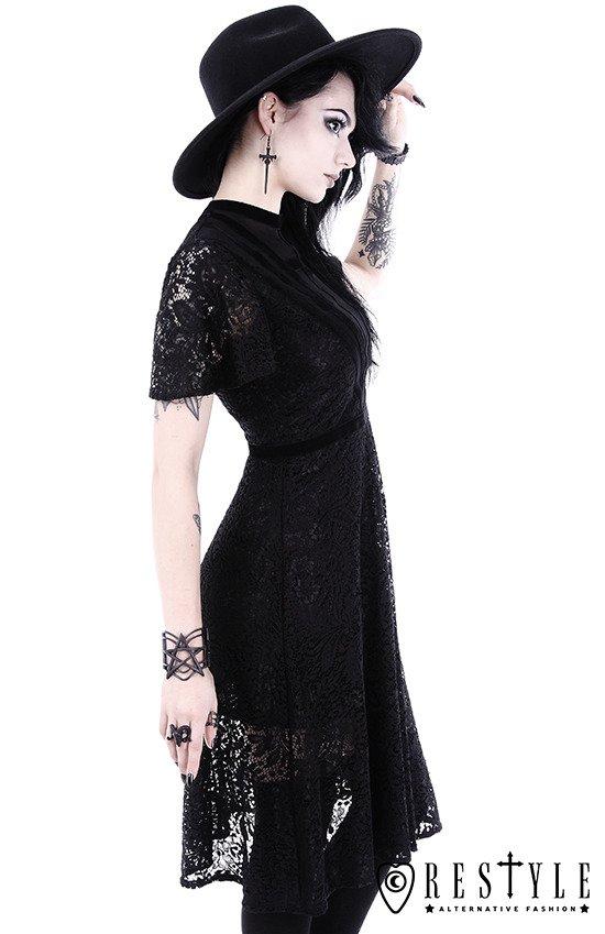 Quot Black Dahlia Dress Quot Black Lace Dress With Cross Straps