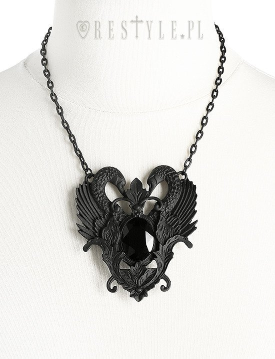 """BLACK SWAN NECKLACE"""