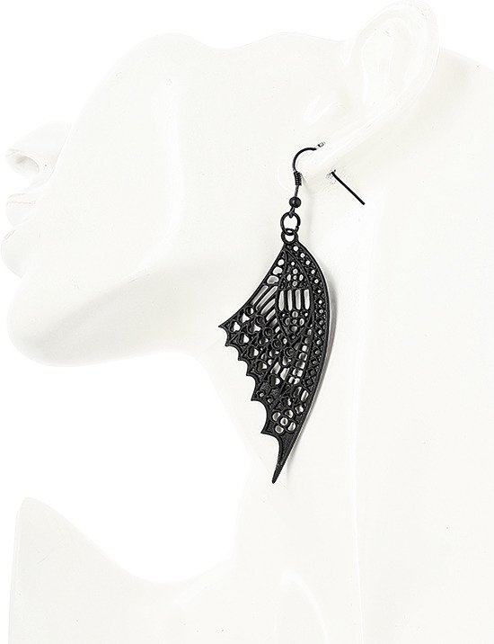CATHEDRAL BUTTERFLY EARRINGS