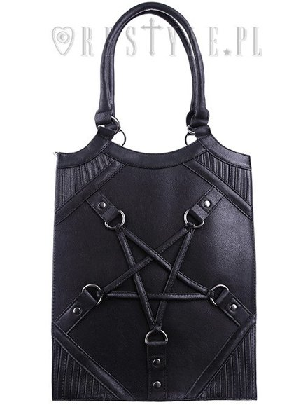 "Pentagram harness handbag, occult purse ""PENTAGRAM BAG"""