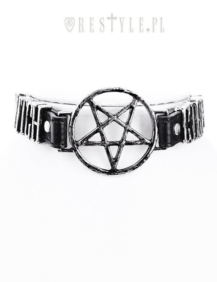 """WITCHCRAFT VEGAN CHOKER"""