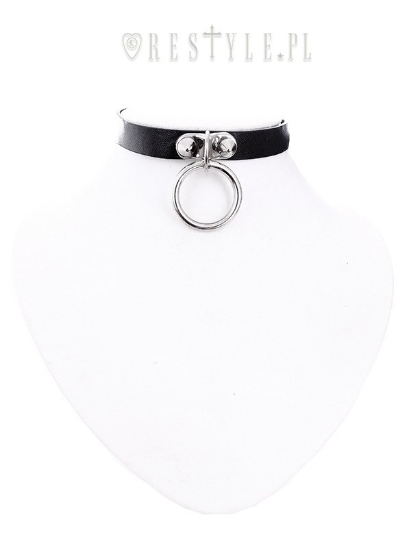 "Gothic choker ""O-RING COLLAR"""