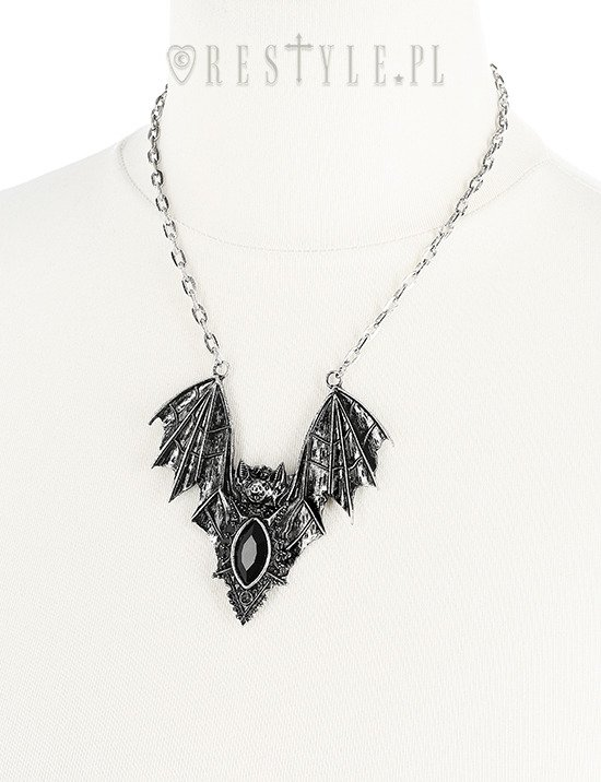 BAT NECKLACE SILVER