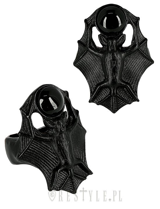 BAT RING, gothic jewellery