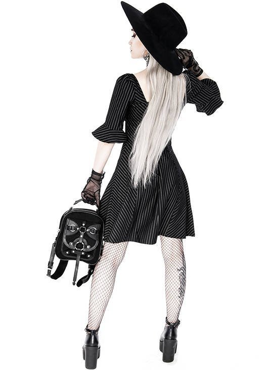 Bellatrix Small Gothic Backpack with a harness