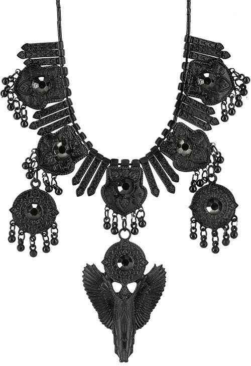 Black Angel Necklace