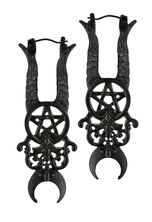 Black Gothic MALEFICENT EARRINGS
