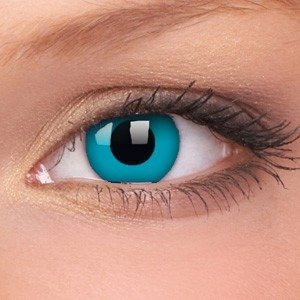 Colourvue SKY BLUE blue wild contact lenses ANNUAL