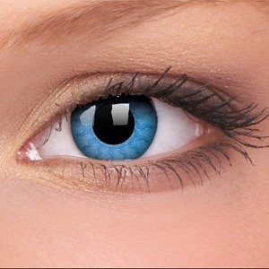 Colourvue SOLAR BLUES decorative contact lenses ANNUAL