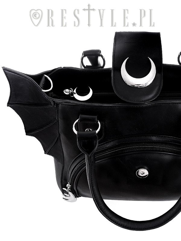 "Moon Bat bag ""ELEGANT GOTH PURSE"""