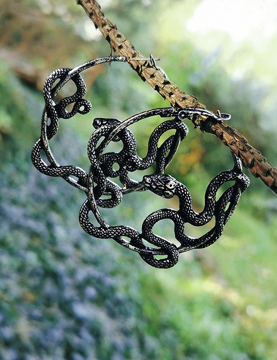 ENTWINE SILVER EARRINGS