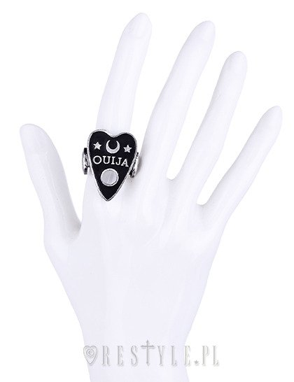 "Gothic ring moon, spirit, occult jewellery ""OUIJA BOARD CURSOR RING"""