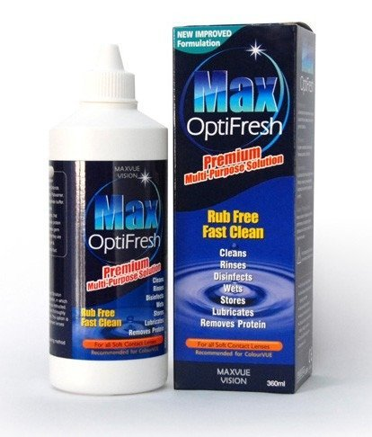 Lens cleaning fluid  120ml MAX OPTIFRESH