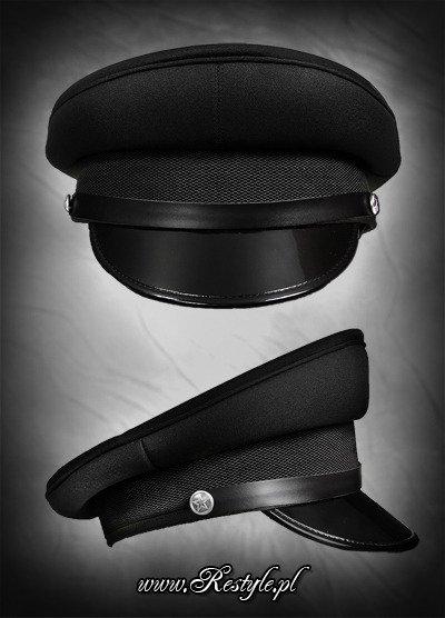 Military officer Cap BLACK  d328180e023
