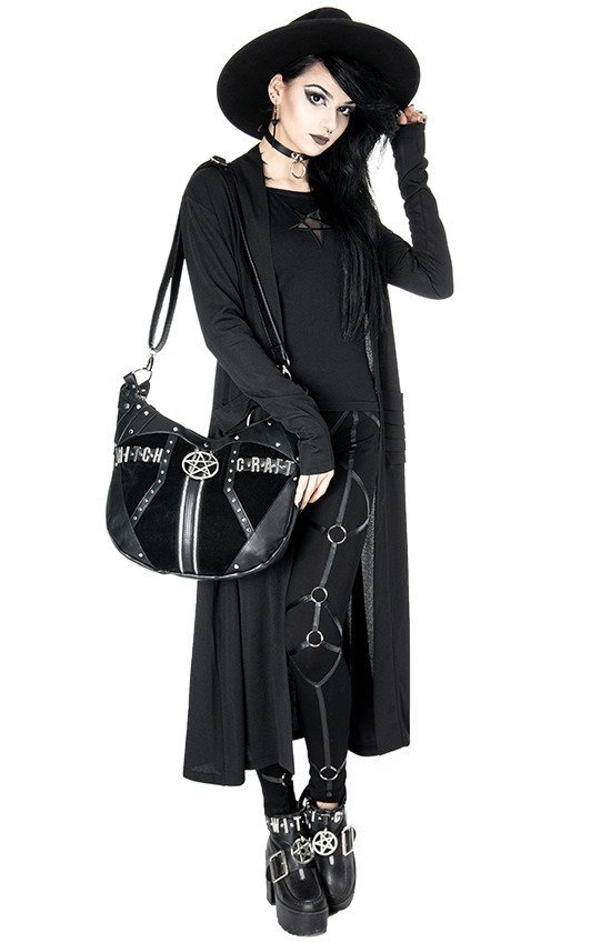 NIGHTWALKER COAT Long jacket, cardigan with pockets