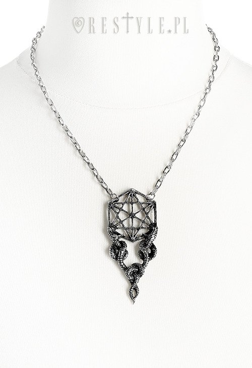 "Necklace ""Sacred Snakes Silver Pendant"""