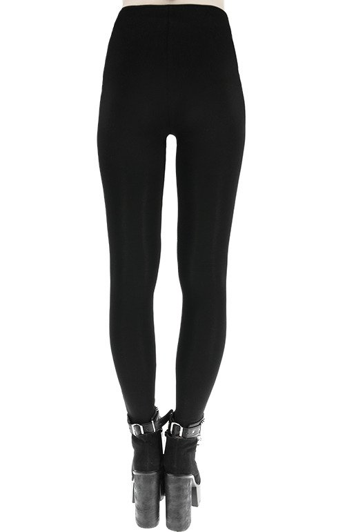 RINGS LEGGINGS Gothic trousers leather straps