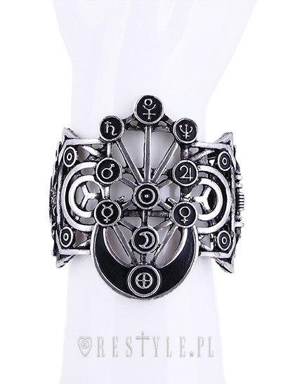 Wide Bracelet, Planet symbols, moon
