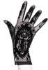 Black gothic mesh SAINT GOTH gloves