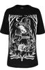unisex t-shirt BURN THE WITCH OVERSIZED
