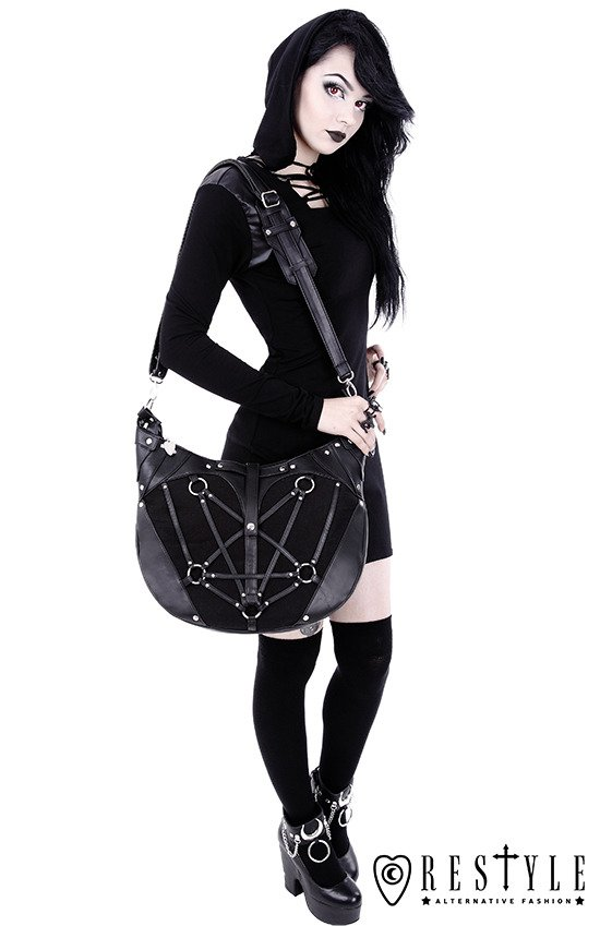 "Torba worek ""PENTAGRAM HOBO BAG"""