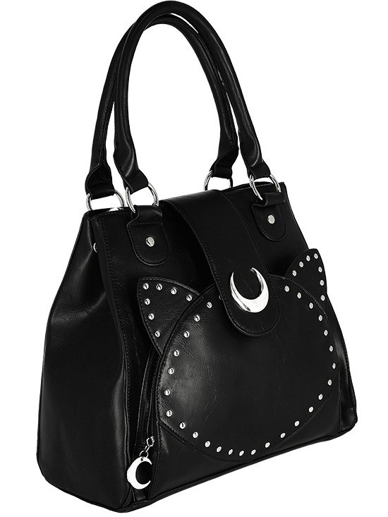 "Torebka gotycka ""MOON CAT BAG"""
